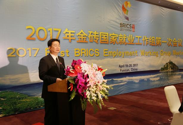 2017年金砖国家就业工作组第一次会议召开